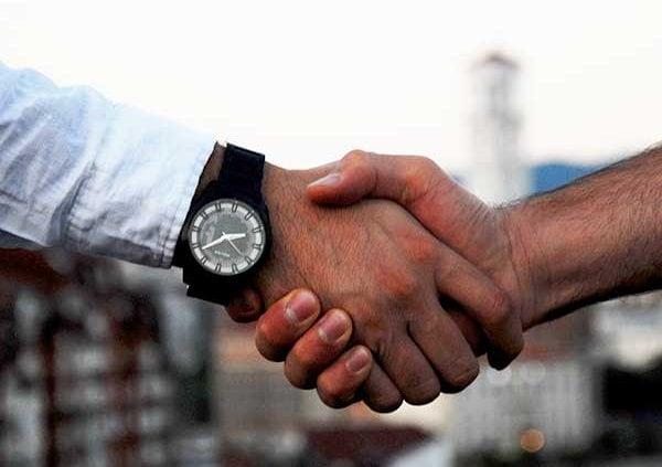 Business Agreements handshake