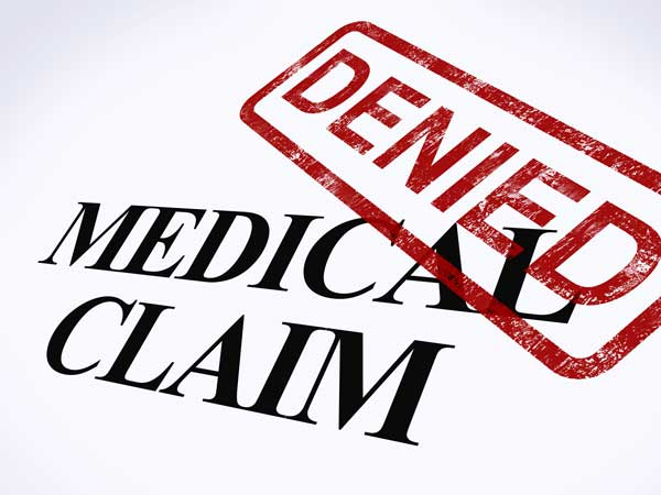 Medical Claim Denied Insurance